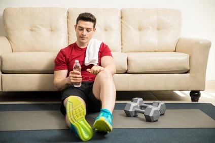 workout f r zu hause. Black Bedroom Furniture Sets. Home Design Ideas