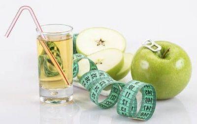 Apfelessig für Diäten